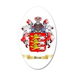 Brian 20x12 Oval Wall Decal