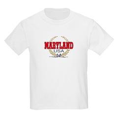 MARYLAND Kids T-Shirt