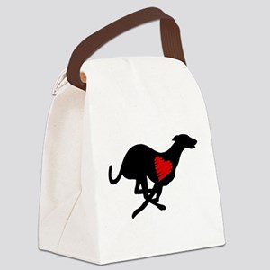 Greyhound Canvas Lunch Bag Hearthound