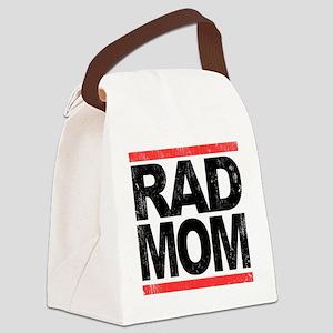 Rad Mom Canvas Lunch Bag