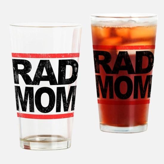 Rad Mom Drinking Glass
