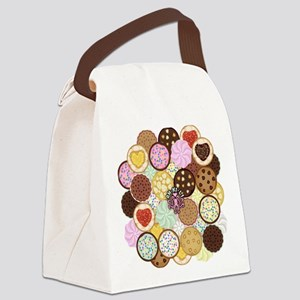 Cookies Canvas Lunch Bag