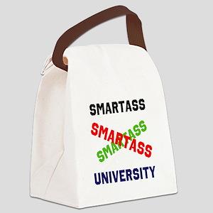 SMARTASSdesign Canvas Lunch Bag