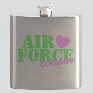 AF Cousin Lime Green Flask