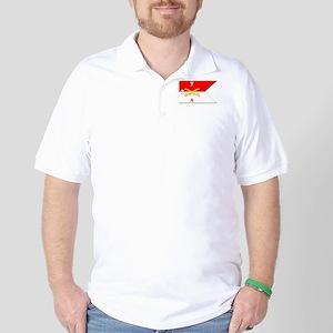 Guidon - A-2/7CAV Golf Shirt