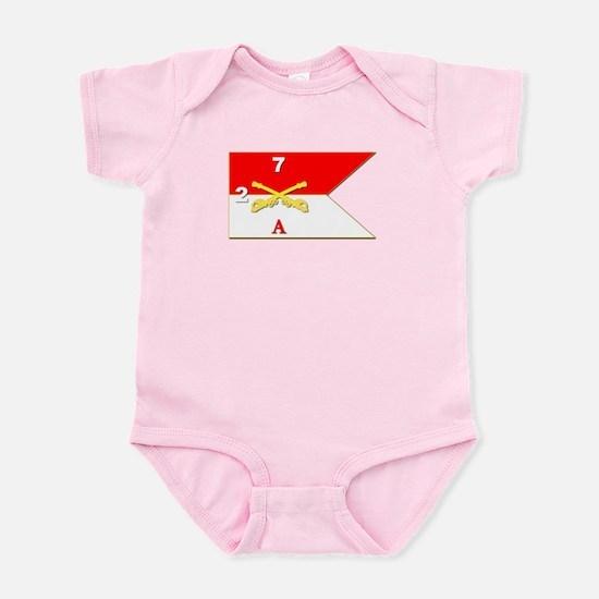 Guidon - A-2/7CAV Infant Bodysuit