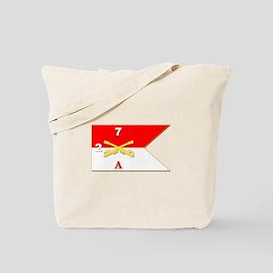 Guidon - A-2/7CAV Tote Bag