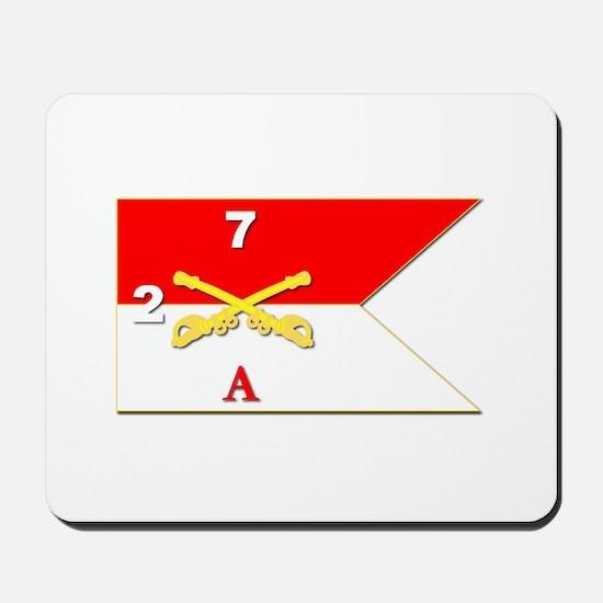 Guidon - A-2/7CAV Mousepad