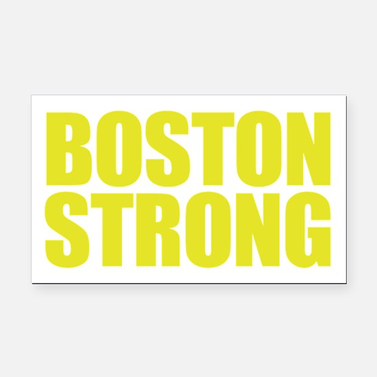 Boston Strong Rectangle Car Magnet