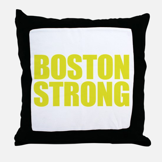 Boston Strong Throw Pillow