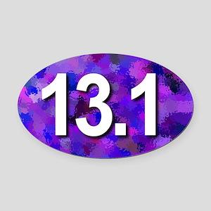 Super Unique 13.1 (purple version) Oval Car Magnet