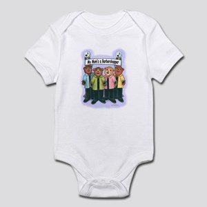 Mom's a Barbershopper Infant Bodysuit