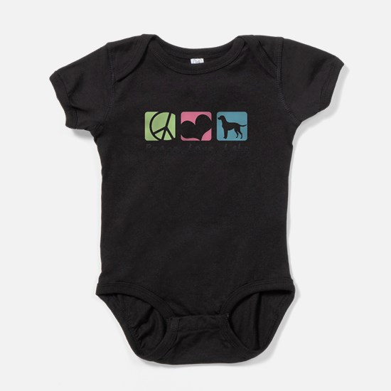 peacedogs.png Baby Bodysuit