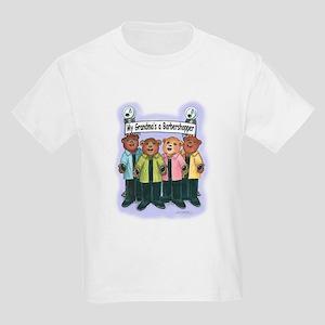 Grandma's a Barbershopper Kids T-Shirt