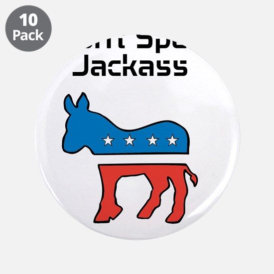 """NOBAMA 3.5"""" Button (10 pack)"""