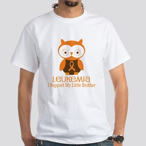 Little Brother Leukemia Support White T-Shirt
