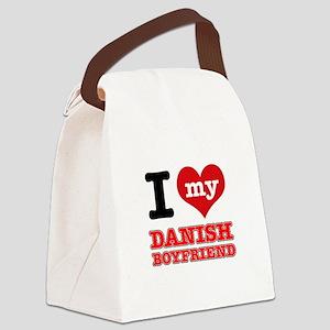 I love my Danish Boyfriend Canvas Lunch Bag