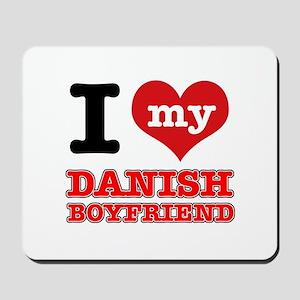 I love my Danish Boyfriend Mousepad