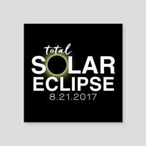 Solar Eclipse 2017 Sticker