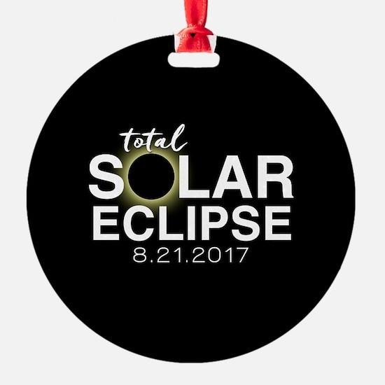Solar Eclipse 2017 Ornament