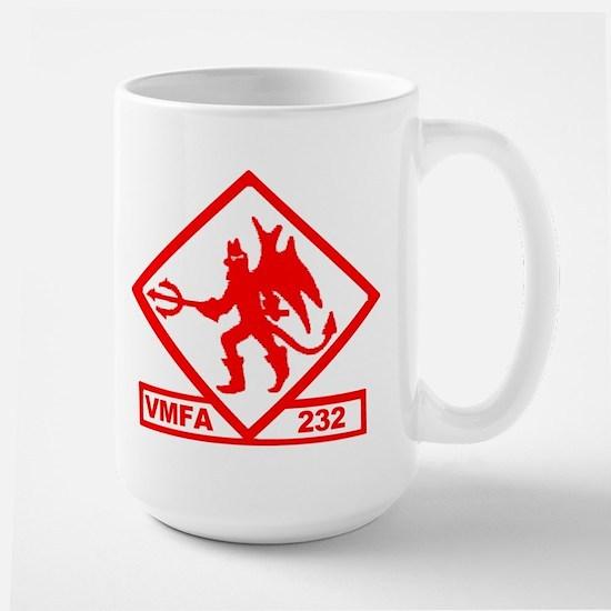 VMFA 232 Red Devils Large Mug