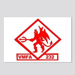 VMFA 232 Red Devils Postcards (Package of 8)