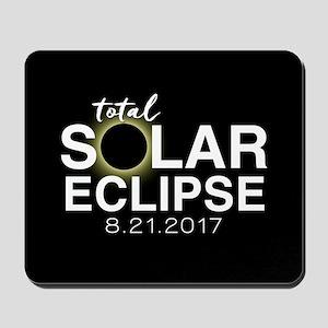Solar Eclipse 2017 Mousepad