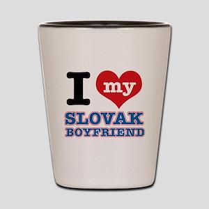 I love my Slovak Boyfriend Shot Glass