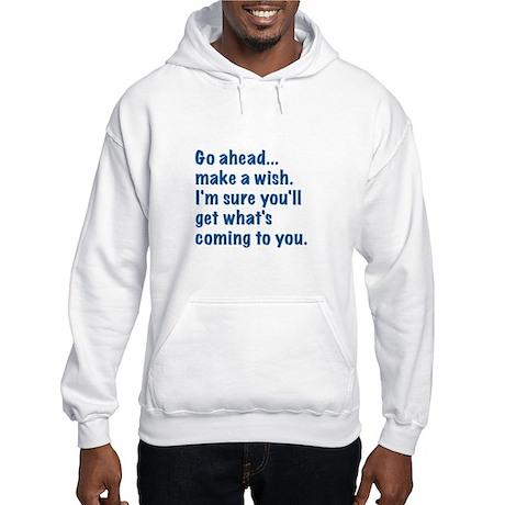 Make a Wish Hooded Sweatshirt