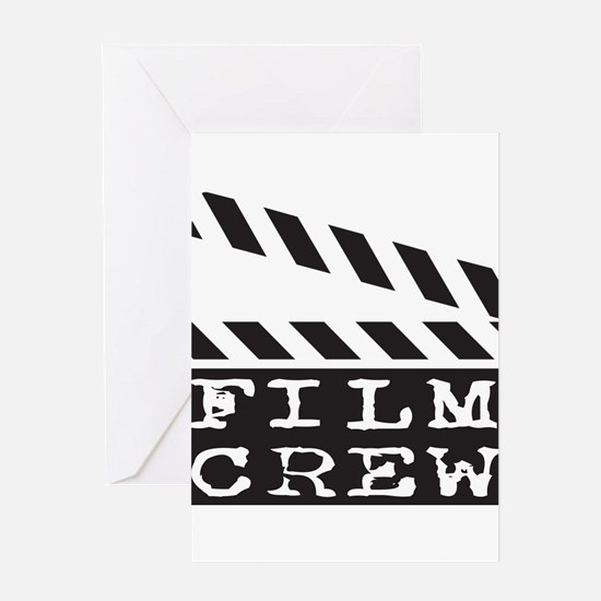 Film Crew Greeting Card
