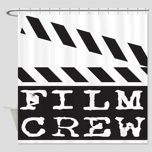 Film Crew Shower Curtain