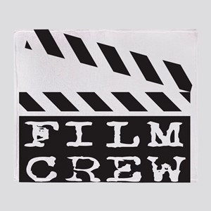 Film Crew Throw Blanket