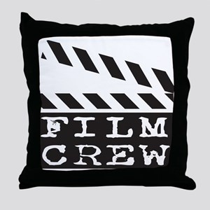 Film Crew Throw Pillow