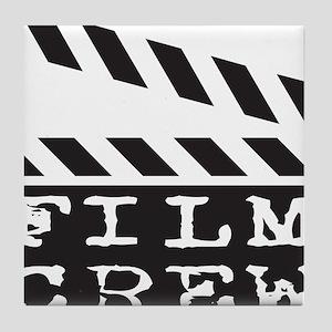 Film Crew Tile Coaster