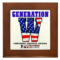 Generation W Framed Tile