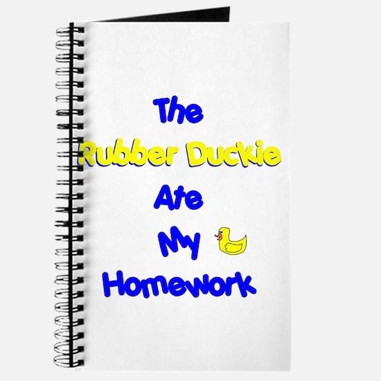 Homework Excuse Journal