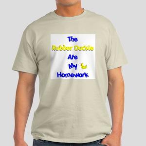 Homework Excuse Ash Grey T-Shirt