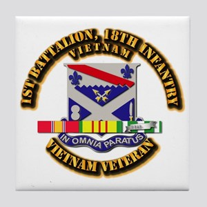 Army - 4th Battalion, 9th Infantry w SVC Ribbons T