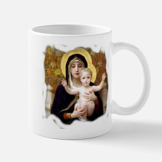 Madonna of the Lilies Mug