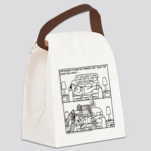 Afternoon Nap - Canvas Lunch Bag