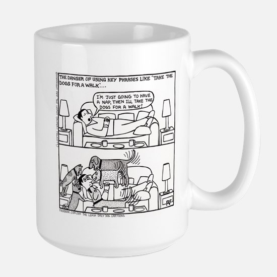 Afternoon Nap - Large Mug