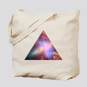 Cosmic Triangle Tote Bag