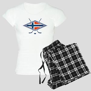 Norsk Ishockey Flag Pajamas