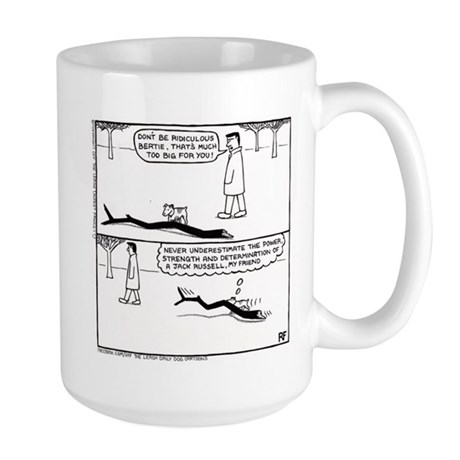 Jack Russell Walkies - Large Mug