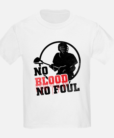 No Blood, No Foul, Lacrosse T-Shirt