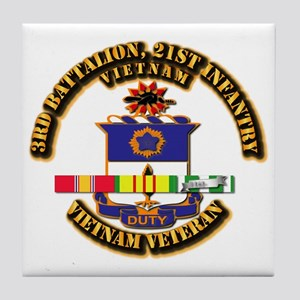 Army - 3rd Battalion, 21st Infantry w SVC Ribbons