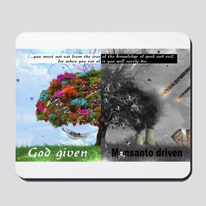 God Given Monsanto Driven Mousepad