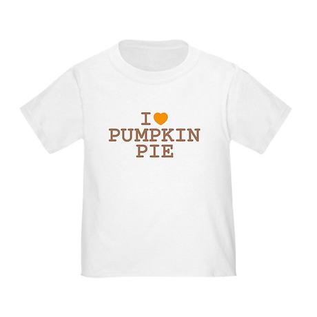 I Heart Pumpkin Pie Toddler T-Shirt