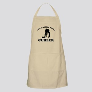 Curler vector designs Apron