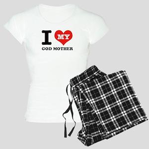 I Love My God Mother Women's Light Pajamas